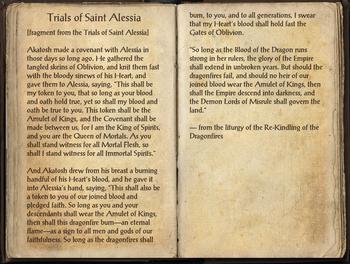 Trials of St. Alessia, as seen in The Elder Scrolls Online