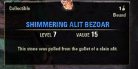 Shimmering Alit Bezoar