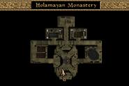 Holamayan Monastery Map Morrowind