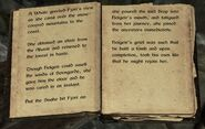 Skyrim book Of Fjori and Holgeir pg4-5