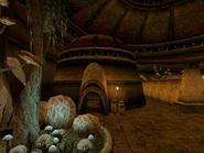 Vivec, Telvanni Vaults Exterior Morrowind