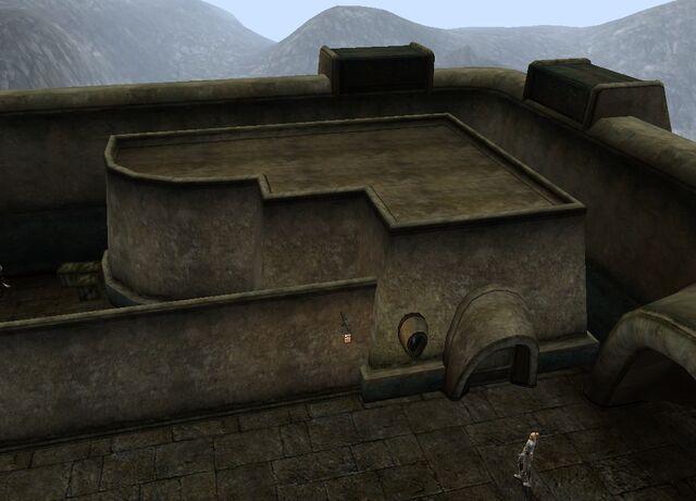 File:TES3 Morrowind - Molag Mar - St. Veloth's Hostel exterior.jpg