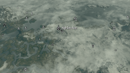 Highgate ruins map