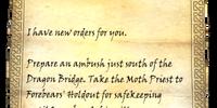 Vampire's Note