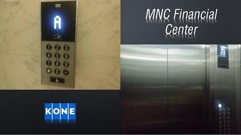 Kone Polaris Traction Lifts - MNC Financial Center, Jakarta