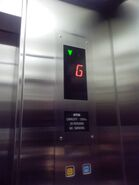 OTIS 3200 car floor indicator