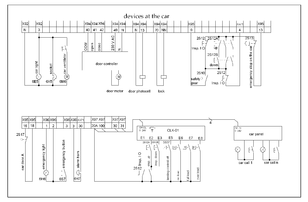 lift electrical diagram lift image wiring diagram kone lift wiring diagrams jodebal com on lift electrical diagram