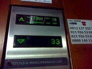 Thyssen STEP floor indicator ATR T14