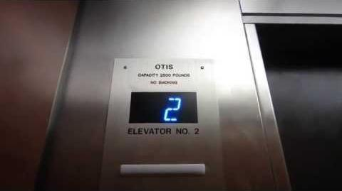 Modernized Otis Gen2 Traction Elevators at the Highland Holiday Inn.