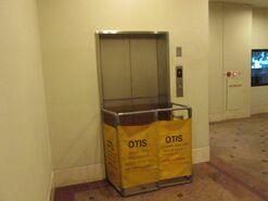 OTIS elevator under repair PSA