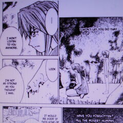 To save Kouta, Lucy rejects the voice once and for all.