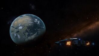 Terrestrial planet and a Cobra