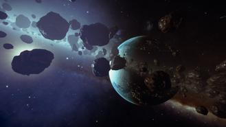 Planet lights ring system