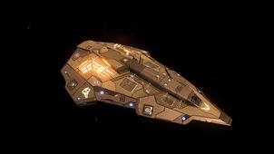 E-D Python - Top Side View in Space