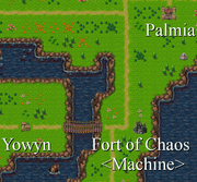 Fort of Chaos (Machine) in map