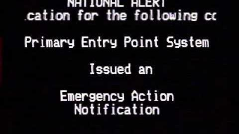 Emergency Action Notification Emergency Alert System