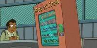 Sick Vending Machine Robot