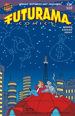 Futurama-34-Cover