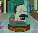 Theodore Roosevelt's head