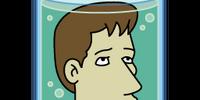 David Duchovny's head