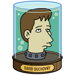 Image result for david duchovny futurama
