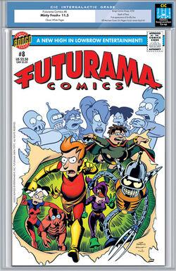 Futurama-08-Cover