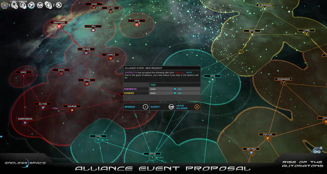 Alliance event proposal 2