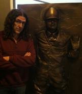 """Weird Al"" Yankovic with Adolf Hitler"