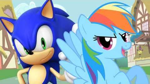 Sonic the Hedgehog vs Rainbow Dash