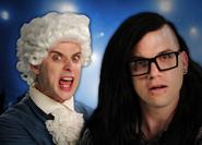 Mozart vs Skrillex Thumbnail