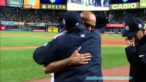 Mariano Rivera last game at Yankee Stadium