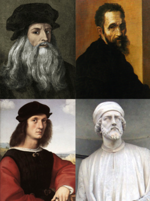 The Renaissance Artists Based On