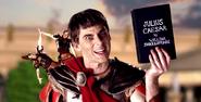 Julius Caesar Holding His Play