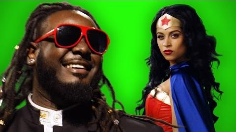 Wonder Woman vs Stevie Wonder - ERB Behind the Scenes