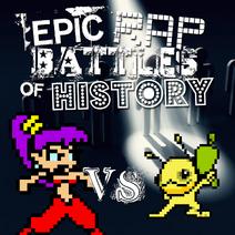 Shantae vs. alien hominid