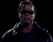 Announcer as Arnold Schwarzenegger