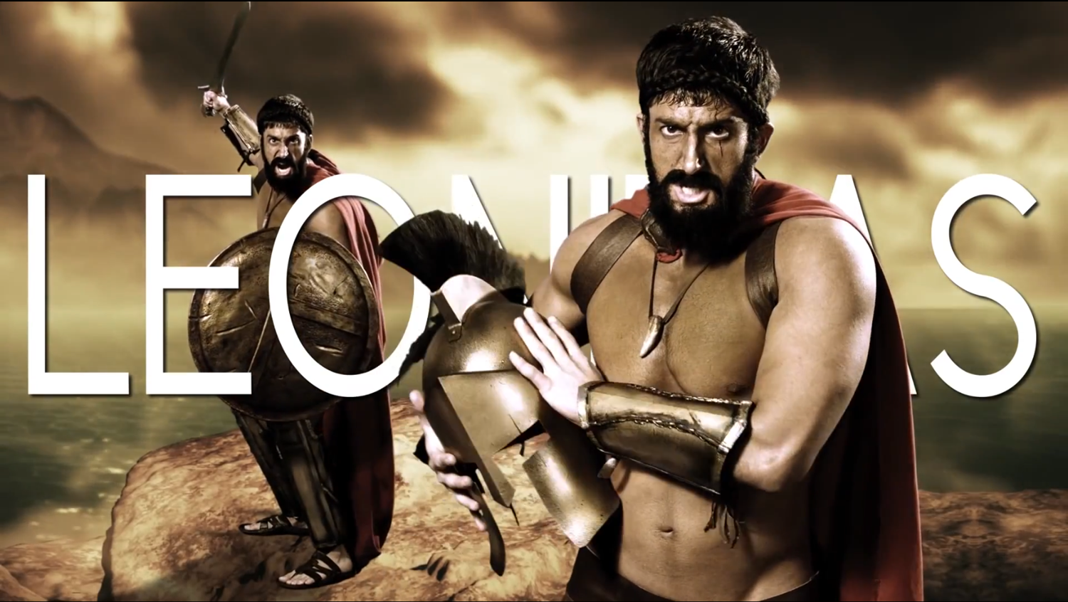 Leonidas | Epic Rap Battles of History Wiki | Fandom powered by Wikia