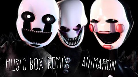 SFM FNAF Music - Music Box Remix Animated -