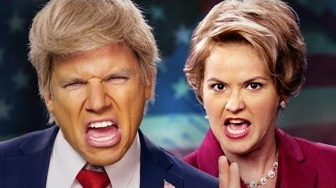 Donald Trump vs Hillary Clinton. Epic Rap Battles of History.-0