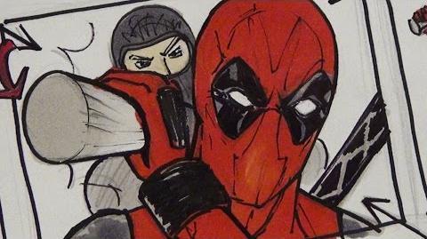Deadpool vs Boba Fett. Behind the Scenes of Epic Rap Battles of History pt