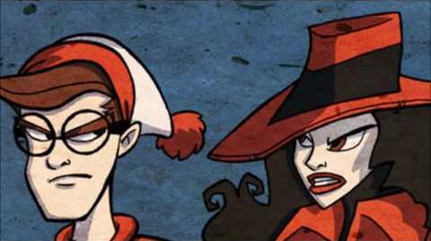 Carmen Sandiego vs Waldo. Epic Rap Battles Video Games vs History Season 3
