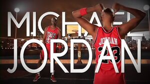 Michael Jordan Title Card
