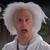 Mc Mr Napkins as Doc Brown
