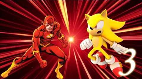 The Flash vs Sonic 3