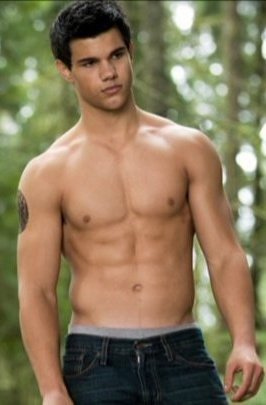 Jacob black with naked for