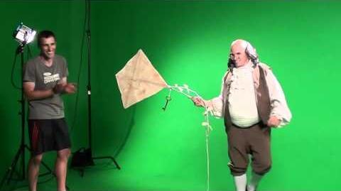 EPIC RAP BEHIND THE SCENES Ben Franklin vs