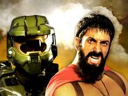 Master Chief vs Leonidas Thumbnail