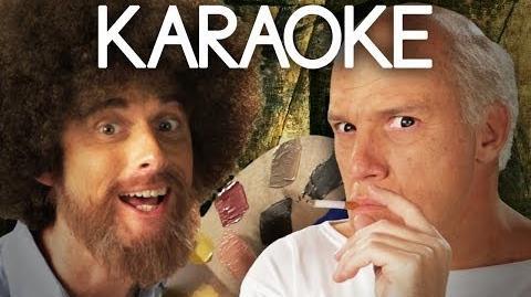 KARAOKE ♫ Bob Ross vs Pablo Picasso. Epic Rap Battles of History