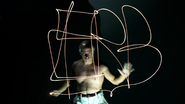 Pablo Picasso Light Drawing ERB