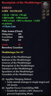 Breastplate of the Wrathbringer